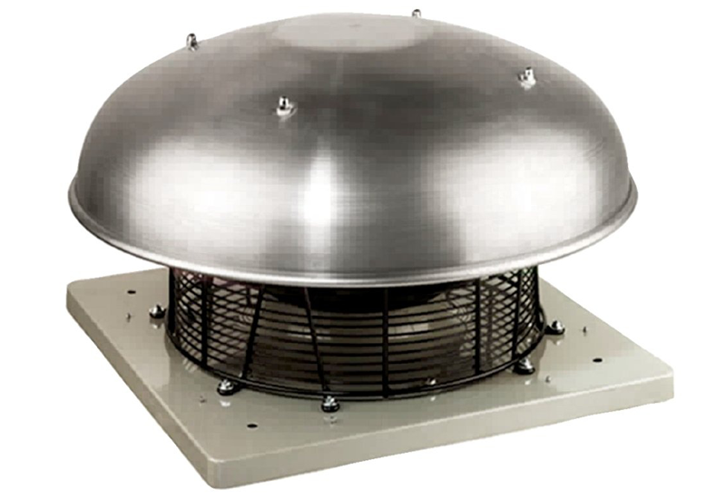 Крышный вентилятор DHS 355E4 sileo