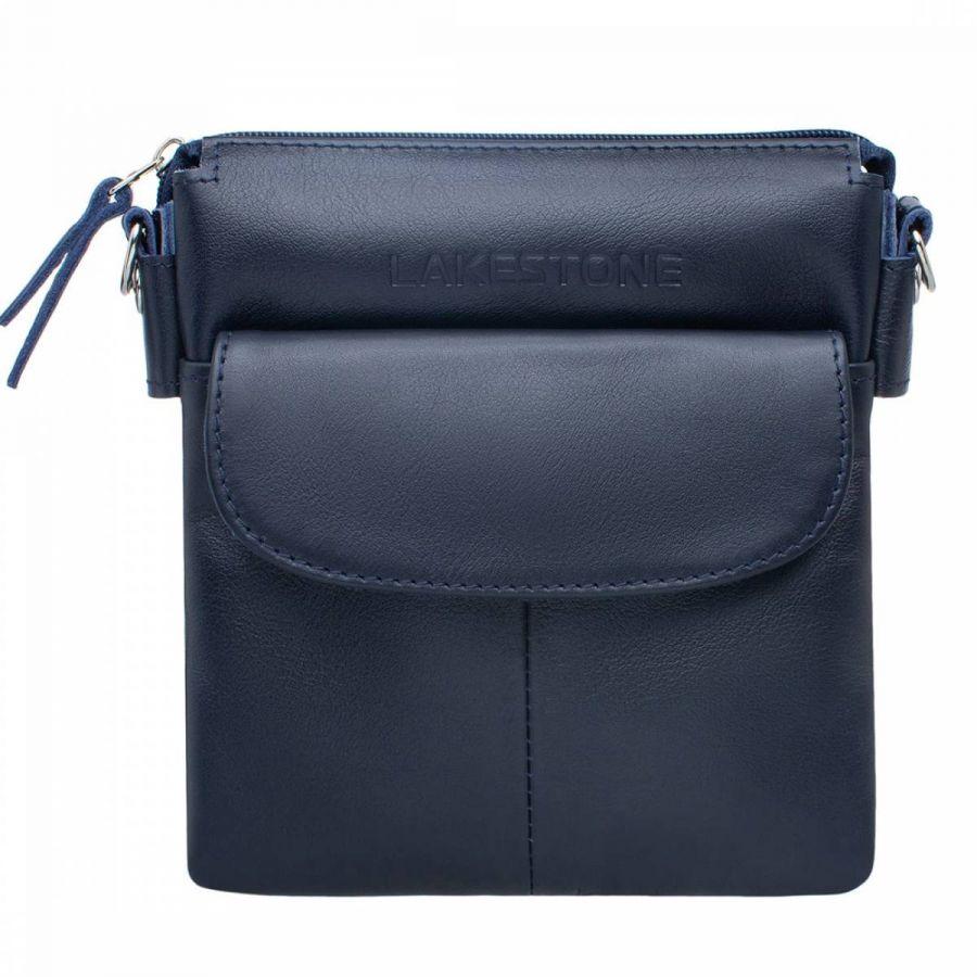 Мужская сумка через плечо Lakestone Osborne Dark Blue