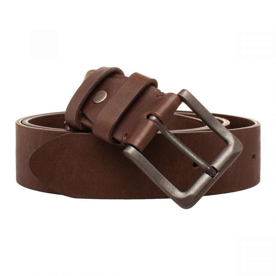 Мужской кожаный ремень Lakestone Vowell Brown