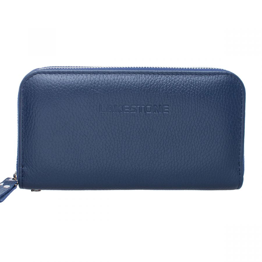 Мужской кожаный клатч Lakestone Bantry Dark Blue
