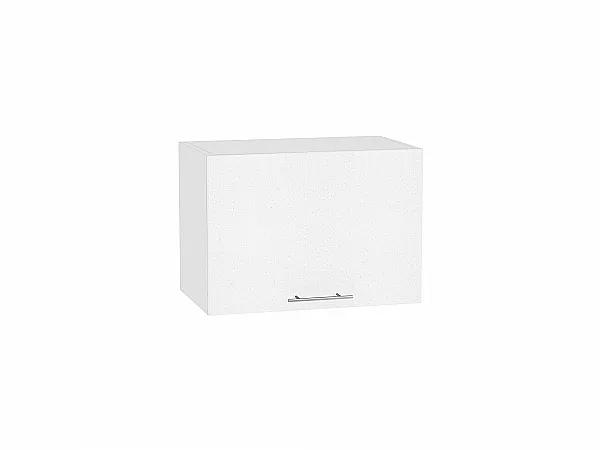 Шкаф верхний Валерия ВГ500 (белый металлик)