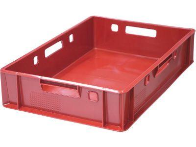 Ящик пластиковый 600x400x120 сплошной