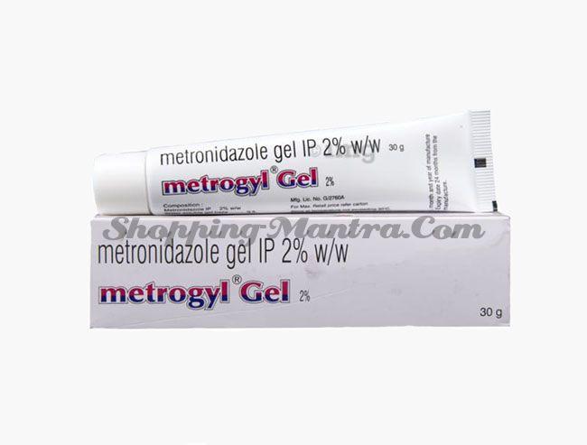 Метрогил гель (метронидазол 2%) J.B.Chemicals & Pharmaceuticals Metrogyl 2% Gel