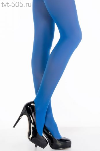 Колготки Glizy Opaque 50den, голубые.