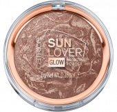 Компактная пудра с эффектом загара Sun Lover Glow Bronzing Powder CATRICE