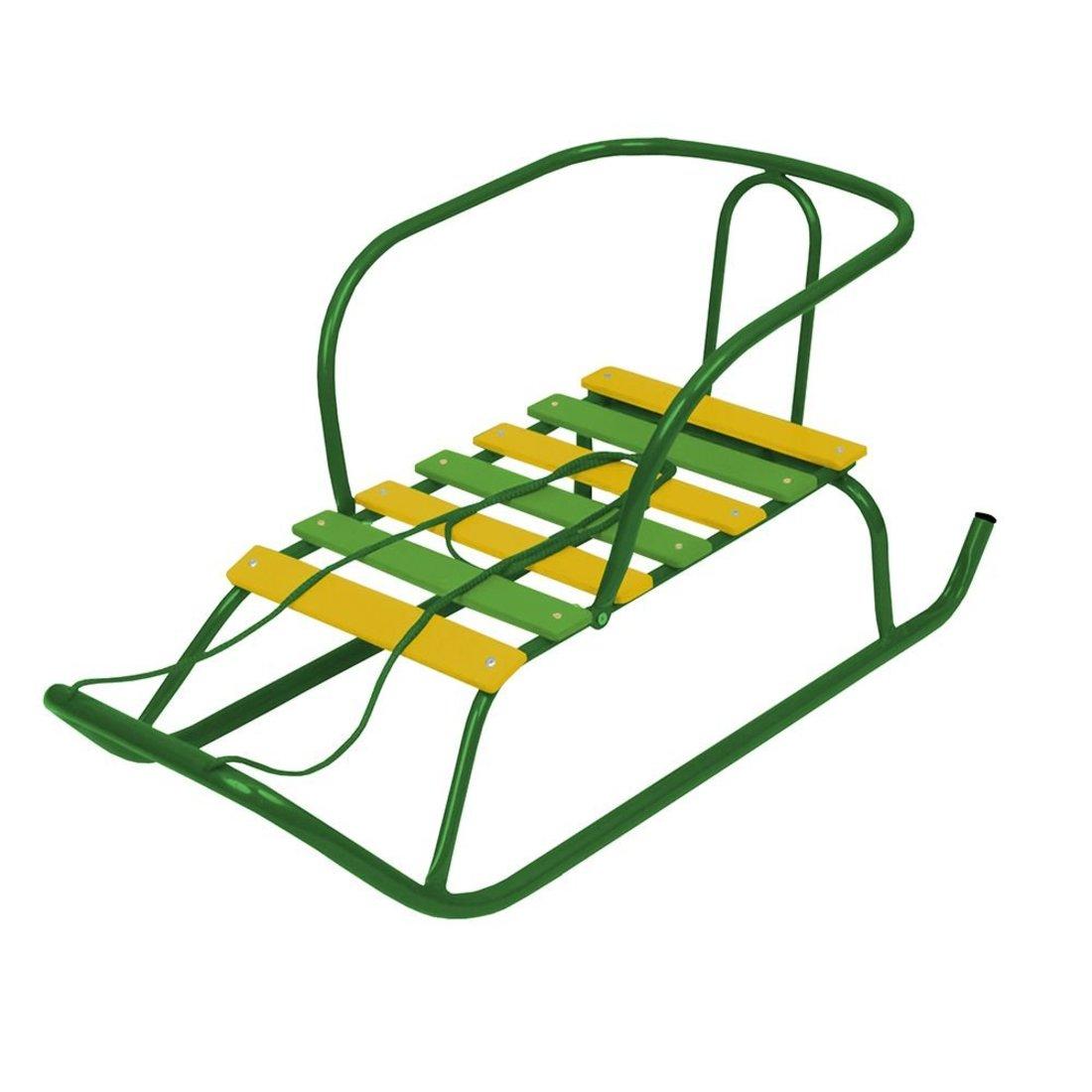 Санки детские Ветерок 1 (зеленый)