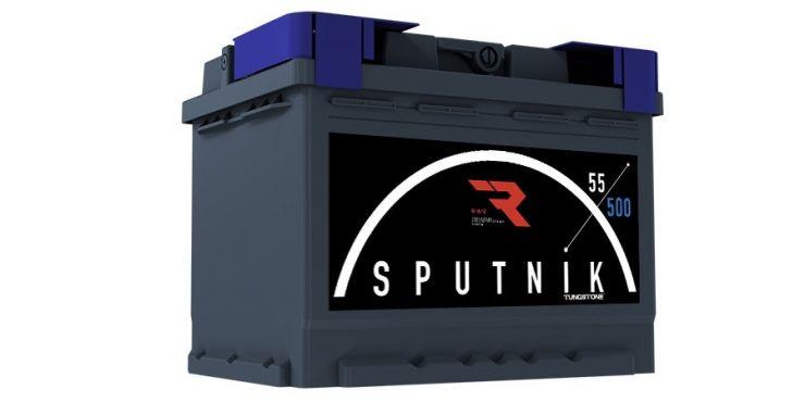 Автомобильный аккумулятор АКБ Sputnik (СПУТНИК) 6СТ-55 N 55Ач о.п.
