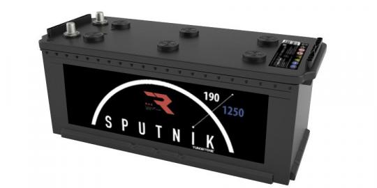 Автомобильный аккумулятор АКБ Sputnik (СПУТНИК) 6СТ-190 N 190Ач О.П. (3) (евро)