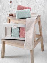 Комплект кухонных полотенец бамбук PANDORA (30*50)*3 Арт.2199-4