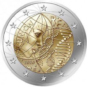Медицинские исследования BU «HEROS» 2 евро Франция 2020 BU блистер