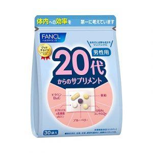 FANCL комплекс витаминов для парней от 20 до 30 лет