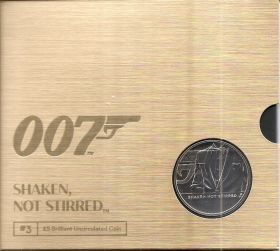 Джеймс Бонд III 5 фунтов Великобритания 2020 на заказ