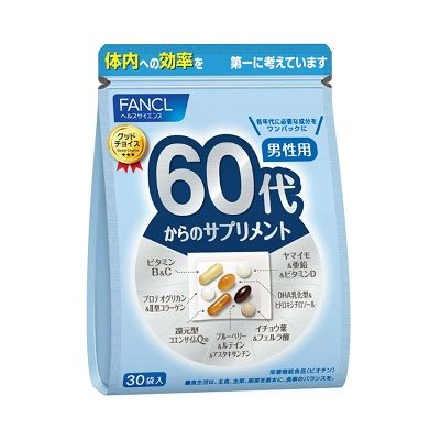 FANCL Комплекс витаминов для мужчин после 60 лет