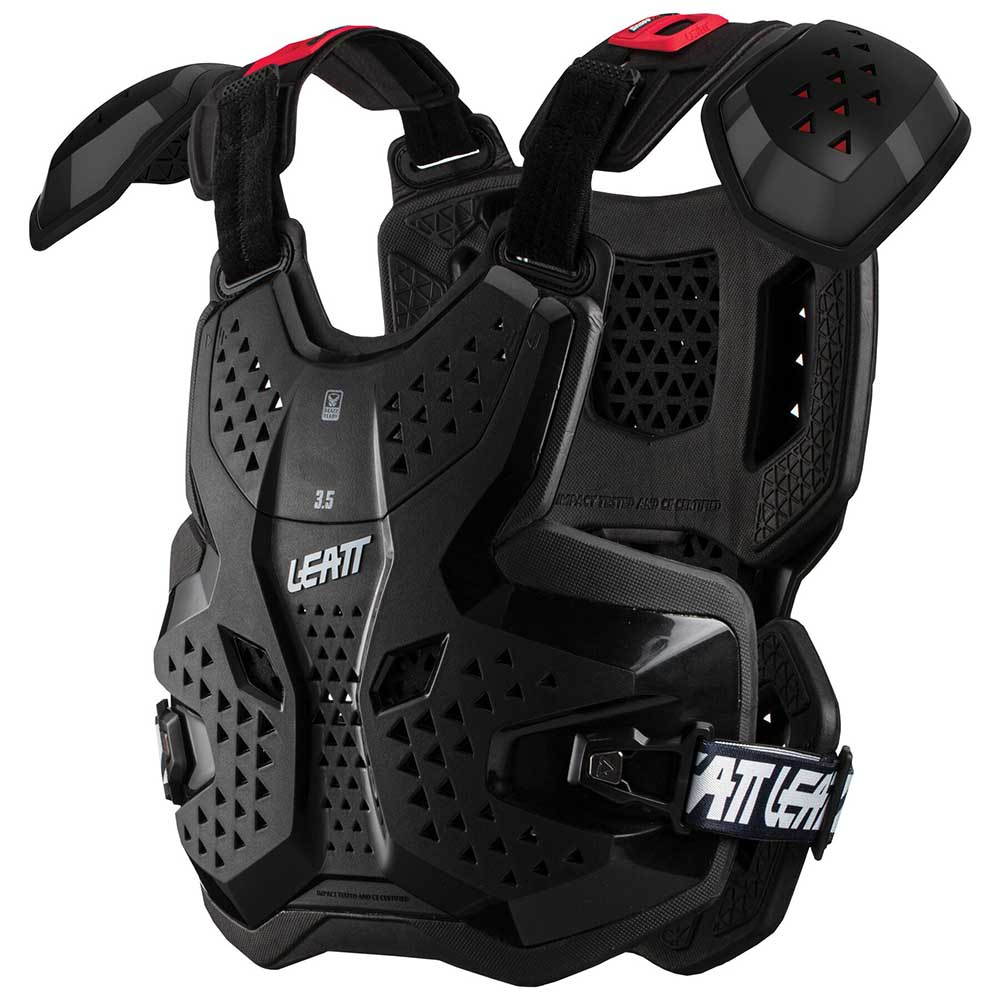 Leatt Chest Protector 3.5 Pro Black защитный жилет