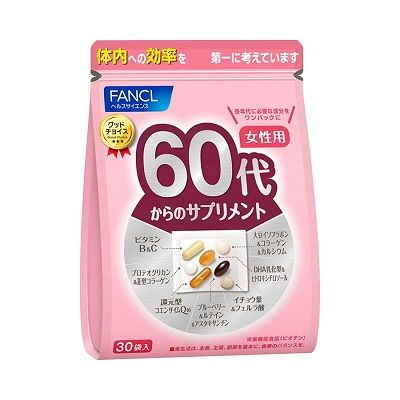 FANCL Комплекс витаминов для женщин после 60 лет