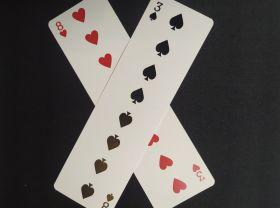 Длинная карта (двусторонняя) - The Long Card Trick  (для предсказания)