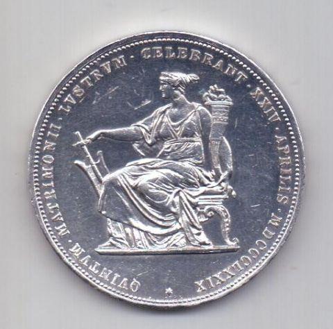 2 гульдена 1879 Австрия UNC