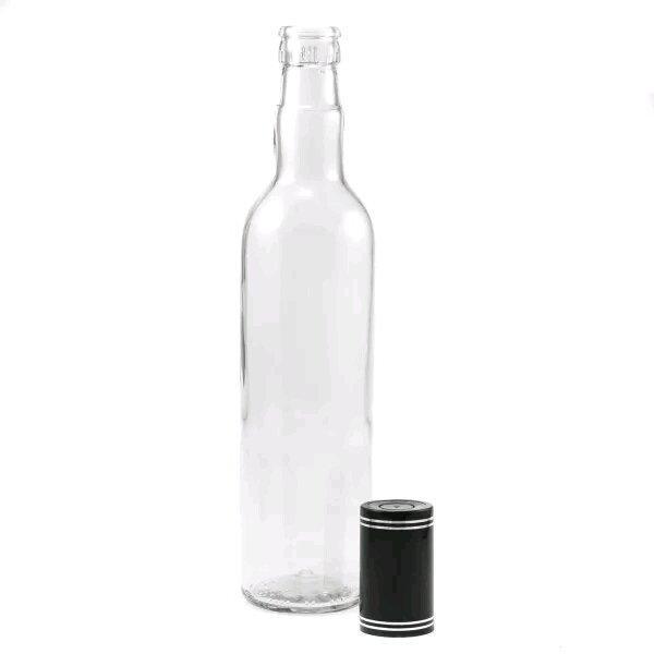 Бутылка Гуала 1000 мл/ 12 шт (под колпачок Гуала 58 мм)