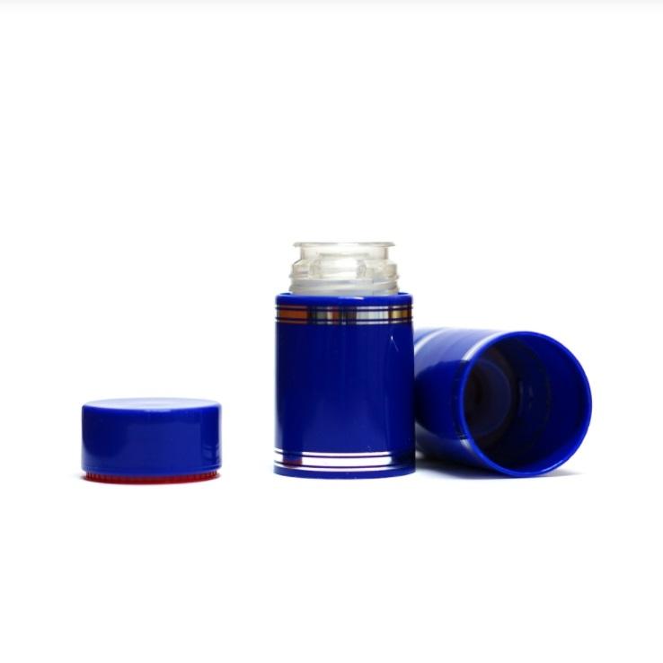 Полимерный колпачок с дозатором синий (Гуала 58 мм), 10 шт