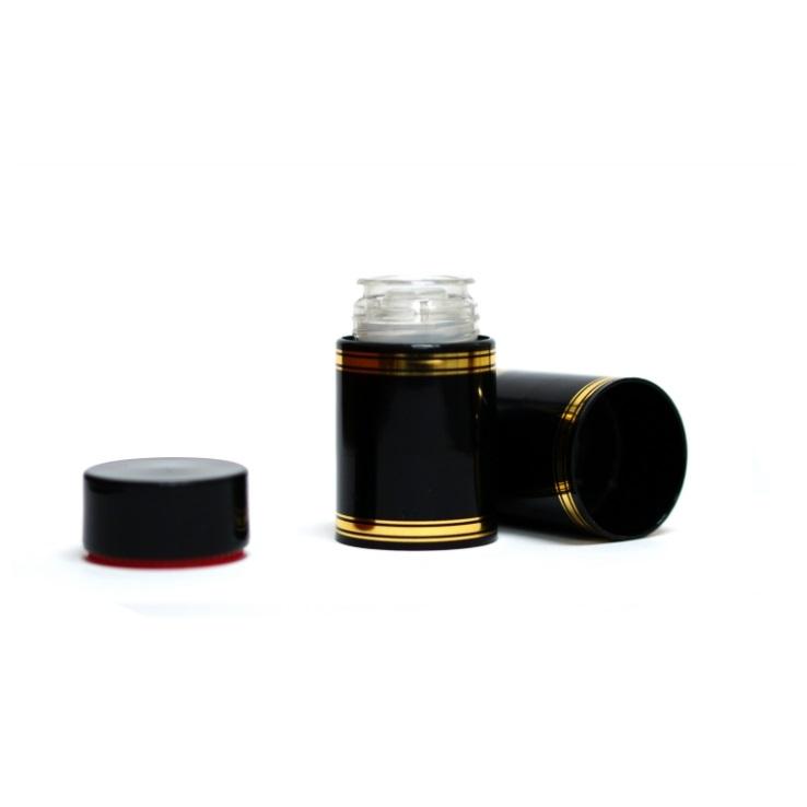 Полимерный колпачок с дозатором черный (Гуала 58 мм), 10 шт