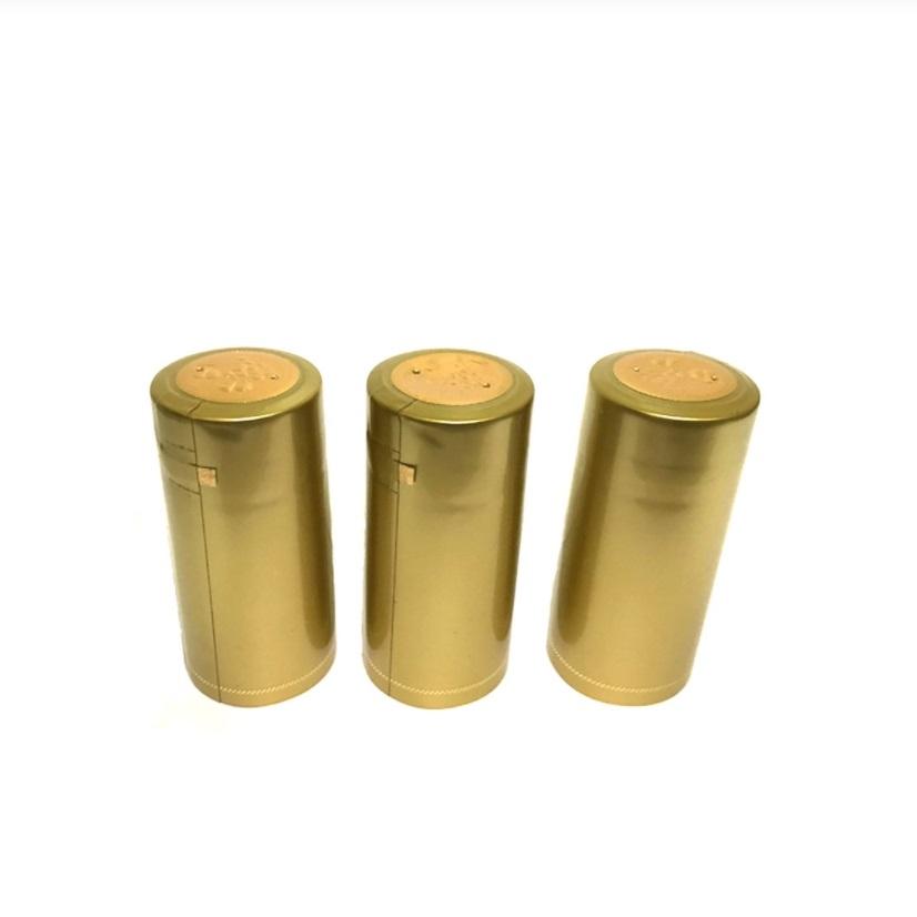 Термоусадочный колпачок золотой (10 шт)