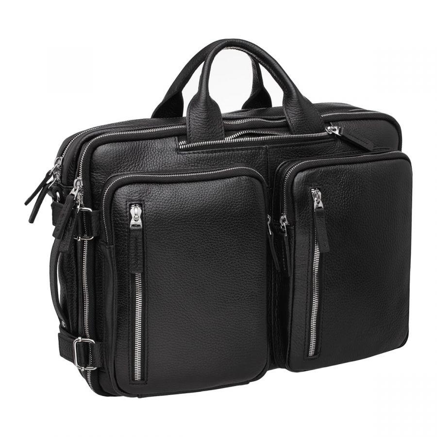 Деловая сумка BLACKWOOD-трансформер Kanilford Black