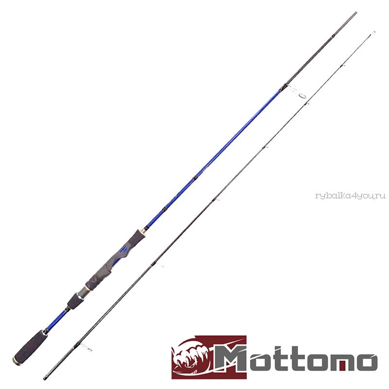 Спиннинг Mottomo Spring 2,13 м / тест 2-12 гр / 4-10lb MSPS-702L