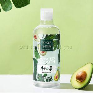 Оригинал Увлажняющее cредство для снятия макияжа с экстрактом авокадо BIOAQUA Gentle Make Up Removal Avocado Pure 500мл