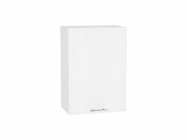Шкаф верхний Валерия В500 (белый металлик)
