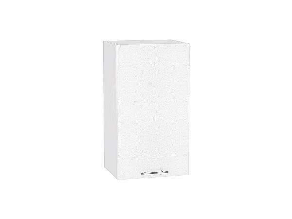 Шкаф верхний Валерия В409 (белый металлик)