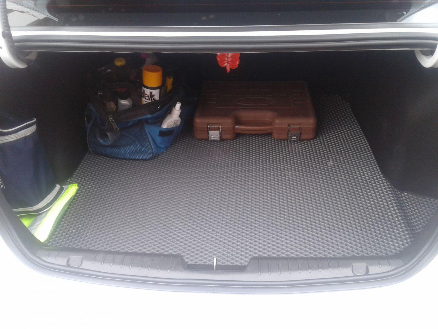 EVA коврики в багажник на Volkswagen Polo (2009-2019)