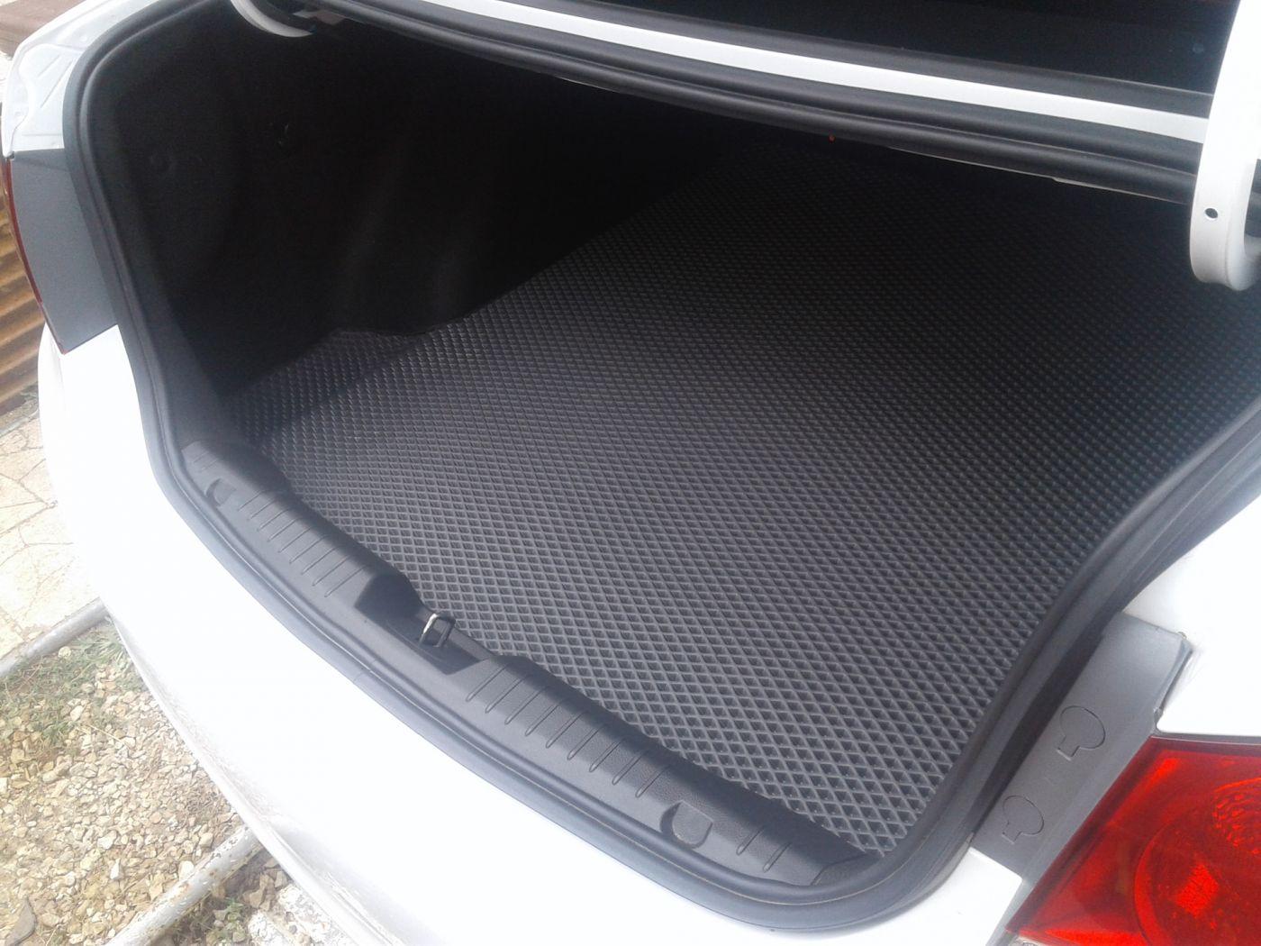 EVA коврики в багажник на Kia Rio 3 (2011-2017)