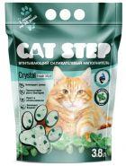 Cat Step Cristal Fresh Mint Впитывающий наполнитель для кошачьего туалета (силикагель), 3,8л