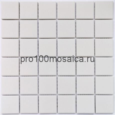 Arene White Мозаика из керамогранита, чип 48*48, размер, мм: 306*306*6