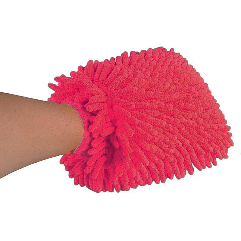 Тряпка-Рукавица Из Микрофибры Super Mitt (цвет розовый)