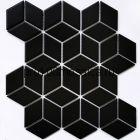 Landa Black matt Мозаика серия PORCELAIN,  размер, мм: 267,4*309*6 (NS Mosaic)