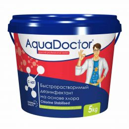AquaDoctor C-60T 5 кг. в таблетках 20 г.