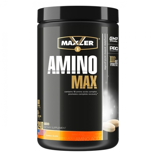 Maxler Amino Max Hydrolysate 240 таб (60 порций)