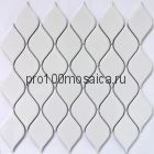 Melany White glossy Мозаика серия PORCELAIN,  размер, мм: 264*280*6