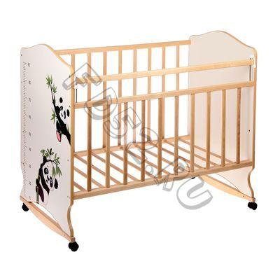 Детская кроватка «Морозко. Панды» с ростомером, 2187638С