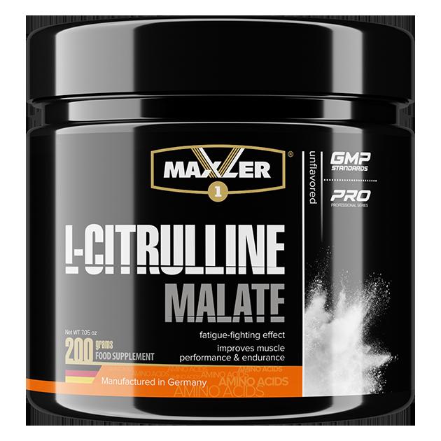 Maxler L-Citrulline Malate 200 гр  (40 порций)