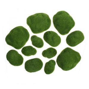 Мох искусственный «Камни», набор 12 шт.