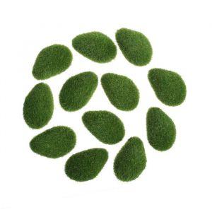 Мох искусственный «Камни», мохнатый, набор 12 шт.