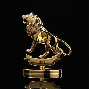Сувенир знак зодиака «Лев», 7?2,3?9 см, с кристаллом Сваровски 798566