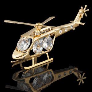 Сувенир «Вертолет», 10?5?4 см, с кристаллами Сваровски 165238