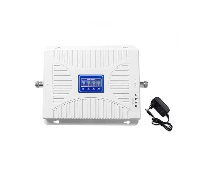 Четырехдиапазонный усилитель GSM 2G/DCS/3G/4G (900/1800/2100/2600 мГц) полный комплект