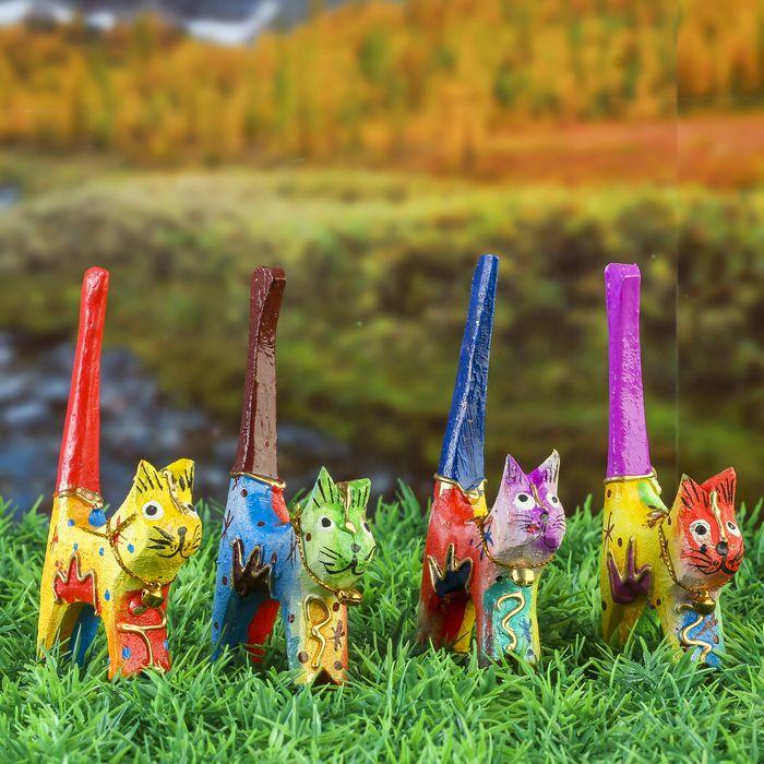 """Набор сувенирный """"Разноцветные кошечки"""" 7,5х5х11 см   3370351"""