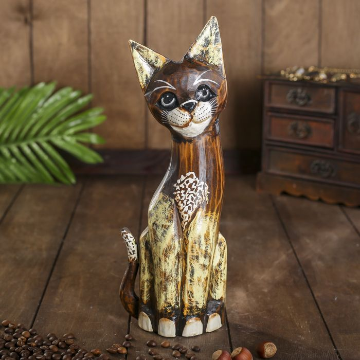 "Сувенир ""Котёнок с бантом"", 30 см"