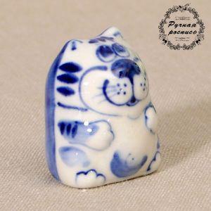 """Сувенир керамика """"Кот """"Таити"""" маленький"""" 4х3 см 2330600"""