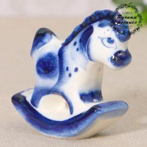 """Сувенир керамика """"Качалка маленькая"""" 5,5х5,5 см 2330662"""